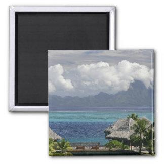Polinesia francesa, Moorea. Una vista de la isla Imán Cuadrado