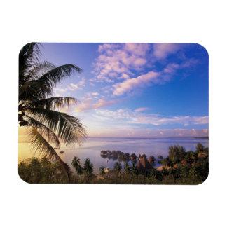 Polinesia francesa, Moorea. Vista del Baie de Imán Flexible