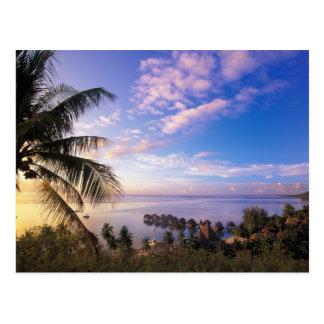 Polinesia francesa, Moorea. Vista del Baie de Postal