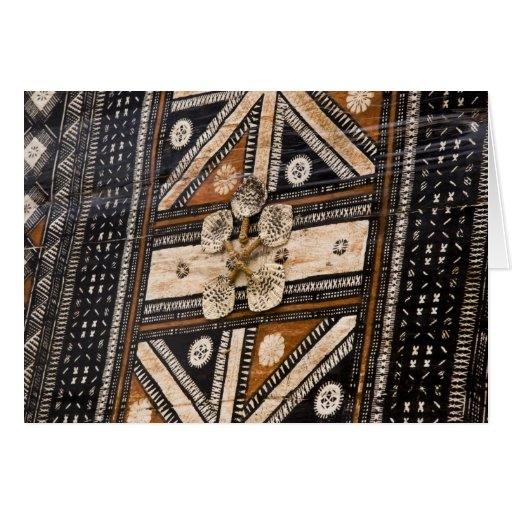 Polinesia, Reino de Tonga. Detalle del tapa Felicitacion
