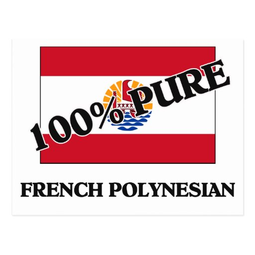 POLINESIO FRANCÉS del 100 por ciento Postales