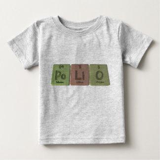 Polio-Po-Li-O-Polonium-Lithium-Oxygen.png Baby T-Shirt