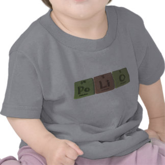 Polio-Po-Li-O-Polonium-Lithium-Oxygen png T Shirts