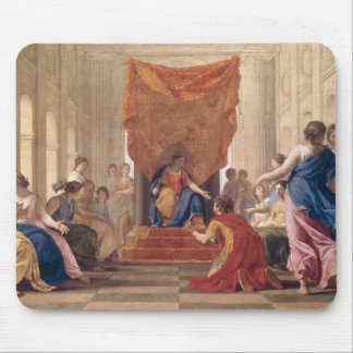 Poliphilus Kneeling before Queen Eleuterylida Mouse Pad