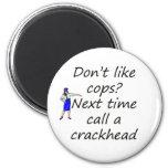 polis y crackhead imanes