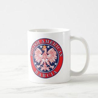 Polish American Babcia Mug