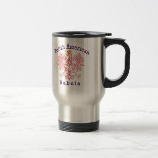 Polish American Babcia Mugs