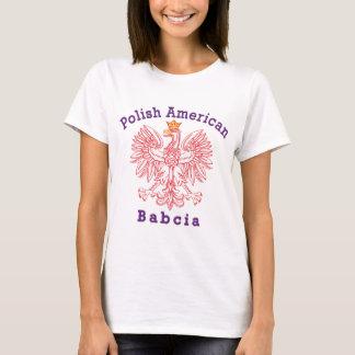 Polish American Babcia T-Shirt