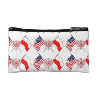 POLISH AMERICAN COSMETIC BAG