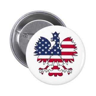 Polish American Eagle Buttons