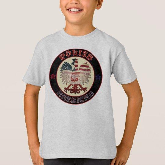 Polish American Eagle Children's T-Shirt