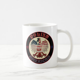 Polish American Eagle Coffee Mug