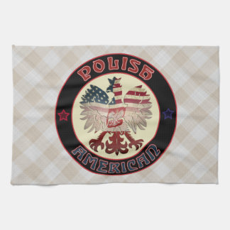 Polish American Eagle Tea Towels