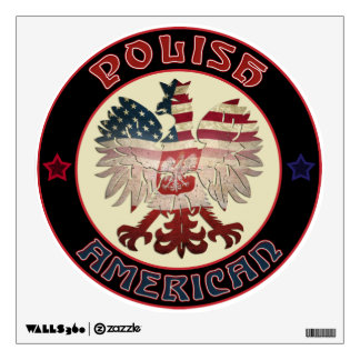 Polish American Eagle Wall Decal