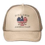 Polish American Flag Eagle Mesh Hat