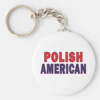Polish American Keychain