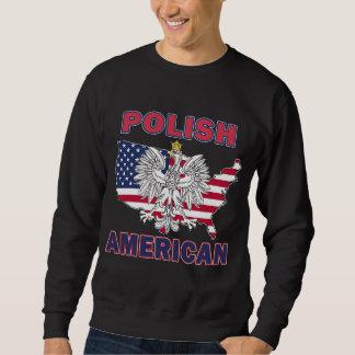 Polish American Map Sweatshirt