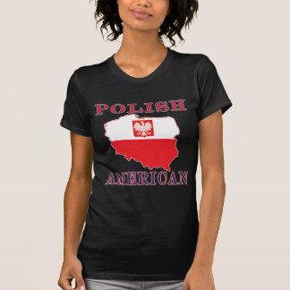 Polish American Map T-Shirt