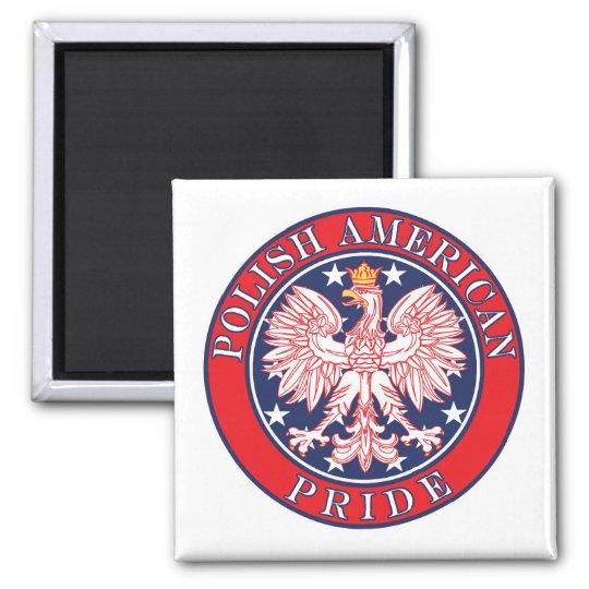 Polish American Pride Magnet