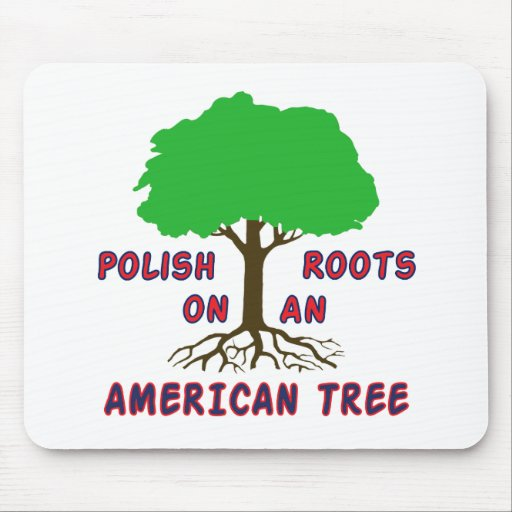 Polish American Roots Mouse Mat