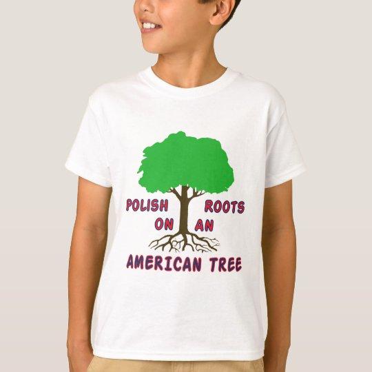Polish American Roots T-Shirt