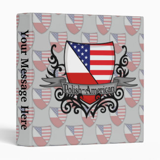 Polish-American Shield Flag Binder