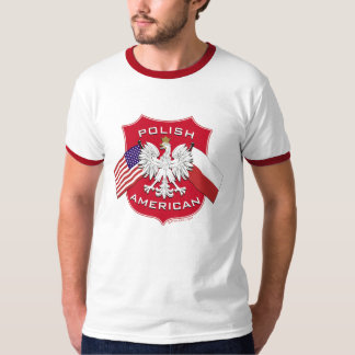 Polish American Shield T-Shirt