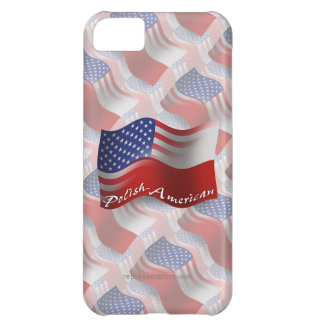 Polish-American Waving Flag iPhone 5C Case