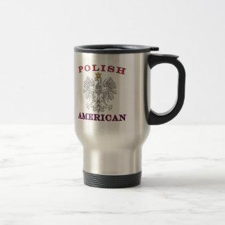 Polish American White Eagle Coffee Mugs