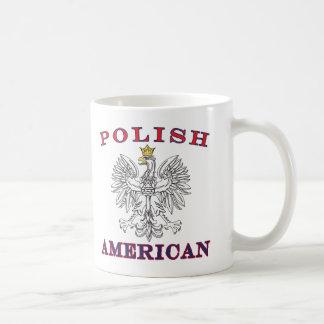 Polish American White Eagle Mugs