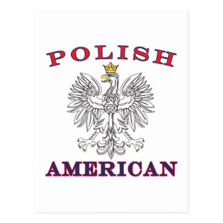 Polish American White Eagle Postcard