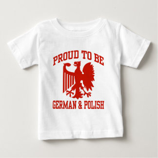 Polish And German Baby T-Shirt