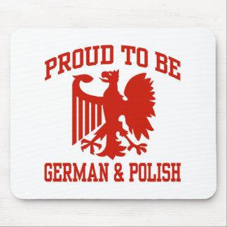 Polish And German Mouse Pad