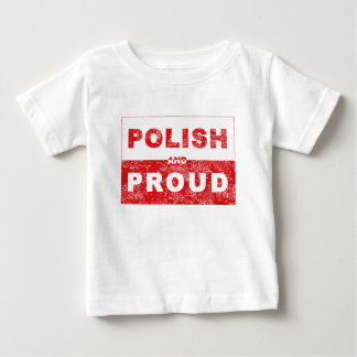 Polish and Proud Flag Baby T-Shirt