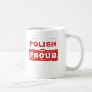 Polish and Proud Flag Coffee Mug