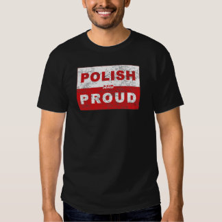 Polish and Proud Flag T-shirt