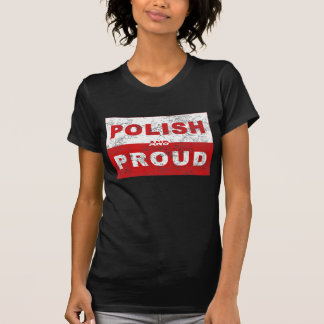 Polish and Proud Flag T Shirt