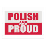 Polish and Proud Post Card