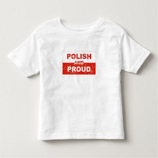 Polish And Proud Toddler T-shirt