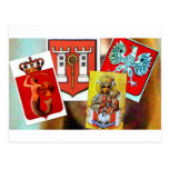 POLISH ANTIQUITIES POST CARDS
