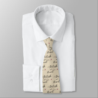 Polish At Heart Tie, Poland Tie