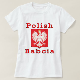 Polish Babcia Eagle T-Shirt