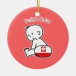 Polish Baby Ornaments