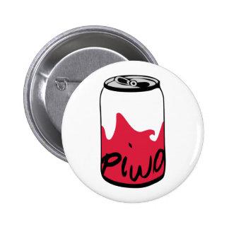 Polish Beer (Piwo) Pinback Button