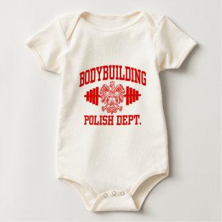 Polish Bodybuilding Baby Bodysuit