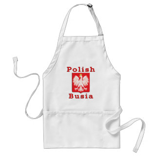 Polish Busia Eagle Adult Apron