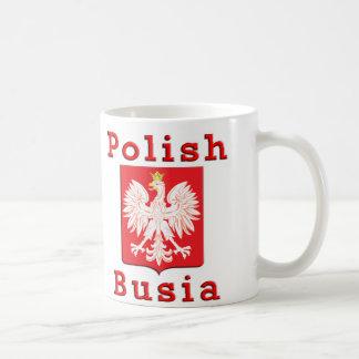 Polish Busia Eagle Coffee Mug