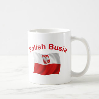 Polish Busia (Grandmother) Coffee Mug