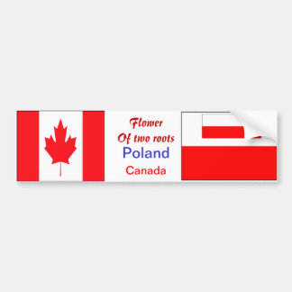 Polish-canadian bumper stickers