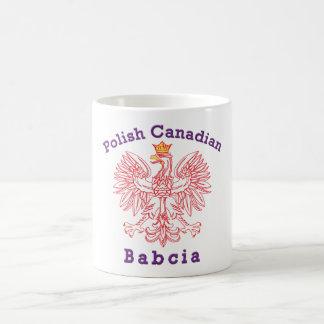 Polish Canadian Eagle Babcia Coffee Mug